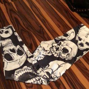 Pants - Skull Leggings